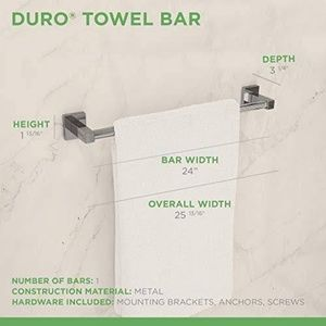"Symmons | Duro 24"" Single Towel Bar/Chrome"